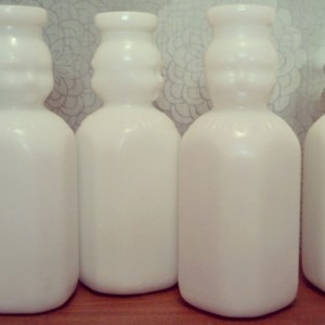 Butterfield Baby Milk Bottles